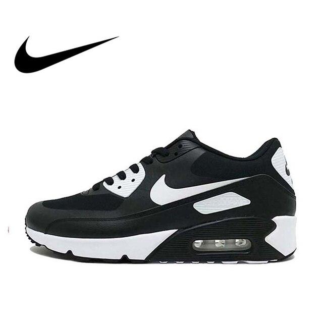 Original oficial de Nike AIR MAX 90 hombres zapatos transpirable deportes zapatillas de deporte cómodos rápido al aire libre Atlético 875695