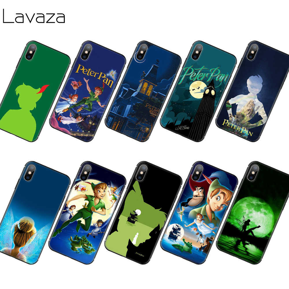 Lavaza Peter Pan Wendy Tinkerbell กรณี TPU นุ่มสำหรับ iPhone 11 Pro XS Max XR X 8 7 6 6S Plus 5 5S SE
