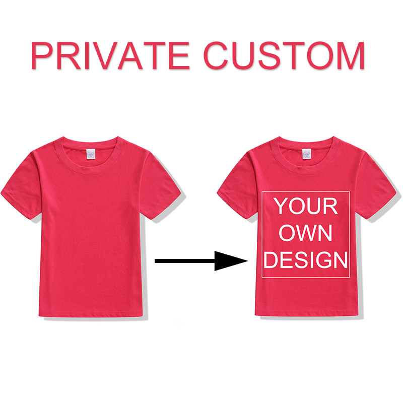 Baby Custom Tshirt Kids Colorfull Print Your Own Design ...