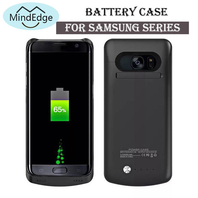 premium selection c63f3 3cf48 Shockproof Luxury 7000mah Battery Charger Case for Samsung Galaxy S9 Power  Bank S8 A8 Plus Coque
