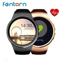 KW18 TK2502C 1.3 pulgadas HD IPS Reloj Bluetooth Reloj Inteligente SIM Ranura Para Tarjeta DEL TF Monitor de Ritmo Cardíaco Reloj Inteligente Smartwatch