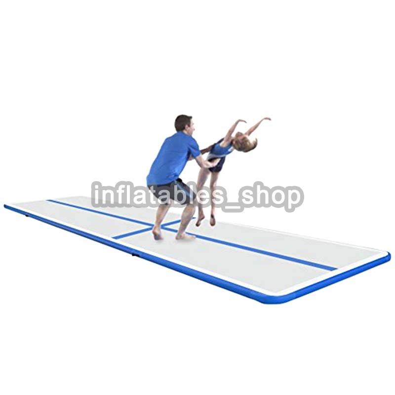 Inflatable Gymnastics 3M 4M 5M Tumbling Air mattress Air Track Floor Trampoline Mats Girl's birthday Gift Yoga/Training Cushion