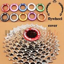 Фотография Flywheel cover Bike Mountain Bike road bike foldable bicycle Locking screws Nuts Aluminum alloy CNC machining 10 colors Modified
