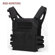 Wholesale Military Tactical Plate Carrier Ammo Chest Rig JPC Vest Airsoftsports Paintball Gear Body Armor For Hunting Equipment(China)