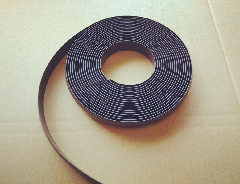 3M(25*2mm) Self adhesive Rubber Magnetic Flexible Magnet Stripe for IRobot Roomba Neato Xiaomi MI home Robotic Vacuum Cleaner free shipping 2 meters self adhesive flexible magnetic strip magnet tape width20x1 5mm ad teaching rubber magnet