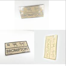 Велосипед перекладины металлические именные метки значок эмблема наклейки для велосипеда Brompton
