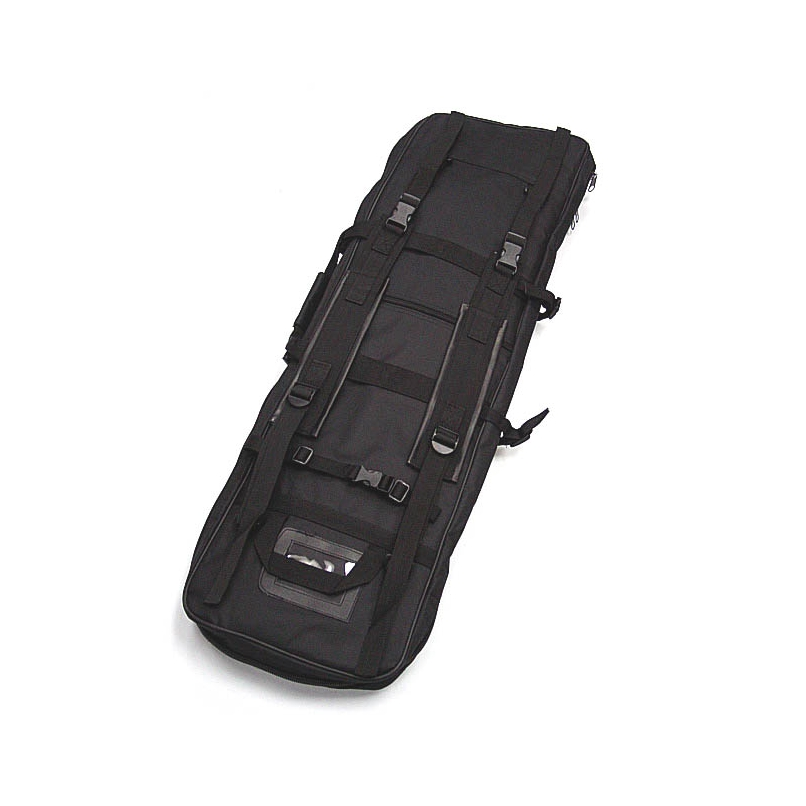 Image 3 - 47 inch 120 CM SWAT Dual Tactical Heavy Duty  Messenger Large Capacity Bag Carrying Case For Rifle Gun Black Wholesale-in Hunting Gun Accessories from Sports & Entertainment
