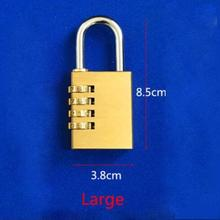 Dream Lock (Large Size,Brass) Magic Tricks Magician Stage Close Up Street Gimmick Props Illusion Mentalism Magia Funny