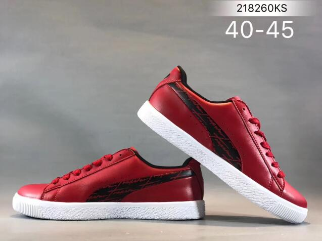 New Arrival Puma Clyde Core L Foil JR Men's shoes Breathable Sneakers Badminton Shoes size40-44