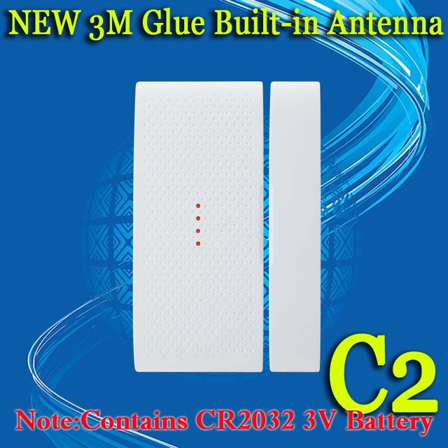 !Wireless Door sensor,door detector,magnetic contact,door contact,SC2262/1527,433mhz for home security alarm system