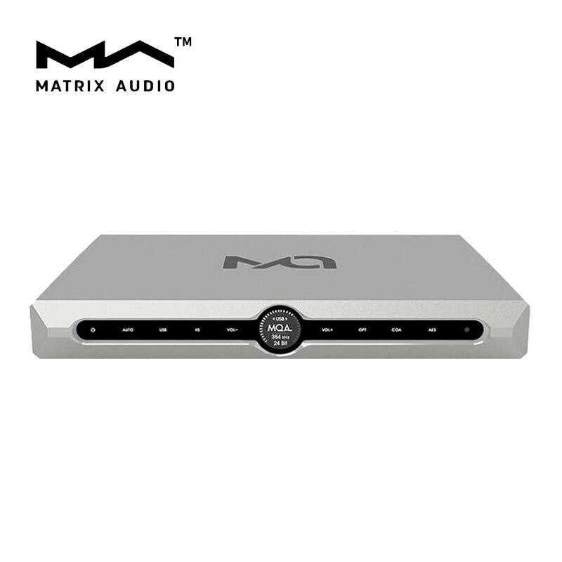 MATRIX X-SABRE Pro MQA XSP Master Audio numérique Hifi musique DAC DSD Decorder