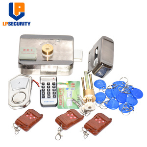 Image 3 - Remote control Electronic RFID Door Gate Lock/Smart Electric Lock Magnetic Induction Door Entry Access Control System 10 tags