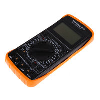 VAKIND AC DC LCD Display Professional Electric Handheld Tester Digital Multimeter Accurate Compact Handheld PTSP