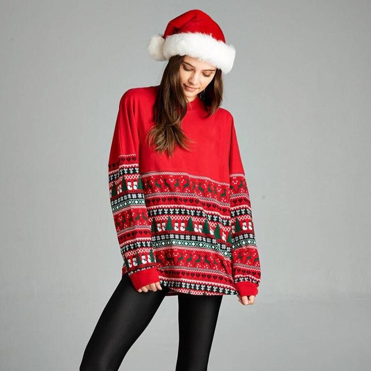 women hoodies sweatshirts ladies autumn winter fall clothing sweat shirts print parties travel christmas  cute