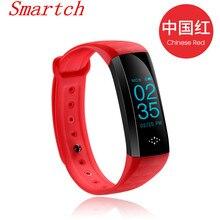 Smartch M2S плюс смарт-браслет сердечного ритма трекер крови Давление кислорода сообщение напоминание Bluetooth браслет IP67 для androidio
