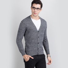 font b Sweater b font Man 100 Pure Cashmere Knitted Winter Warm Cardigans V neck