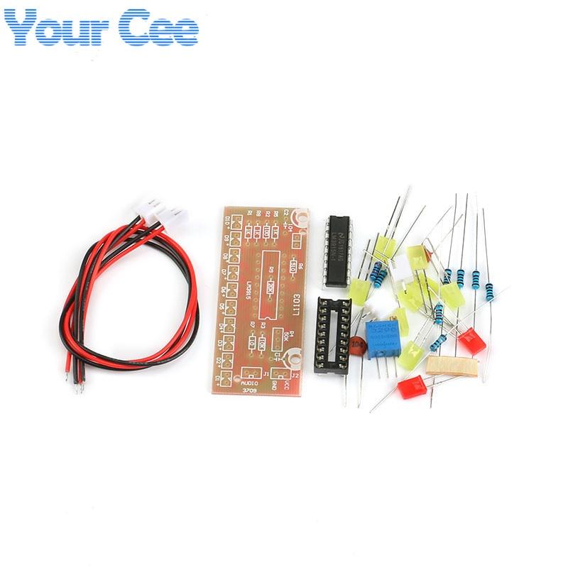 Audio LM3915 Level Indicator Electronic Production Suite DIY Kit Part Components Design