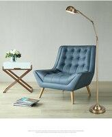 Lampa podłogowa w kolorze miedzi nowoczesny  skandynawski styl amerykański kreatywny lampa podłogowa pionowa lampa podłogowa lampka do czytania w Lampy podłogowe od Lampy i oświetlenie na