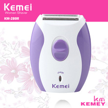 Brand New KeMei KM-280R Women Rechargeable Epilator Little And Dainty Feminine Electric Shaver Hair Removal Shaving Products