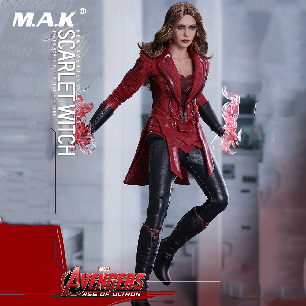 New Arrived MMS357 Avengers 1/6 Avengers 2 Civil War Scarlet Witch Battle War Version Collection Action Figure New Box 1 6 scale avengers age of ultron wanda scarlet witch full set action figure war version for collections