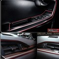 NEW Car Interior Decoration trim strip for SsangYong Actyon Turismo Rodius Rexton Korando Kyron Musso Sports auto Accessories