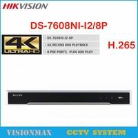 Full HD 1080P CCTV NVR 4CH 8CH NVR For IP Camera ONVIF H 264 HDMI Network