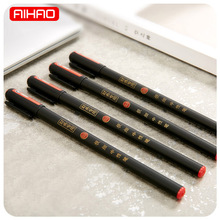 Free Shipping 0.3mm Cute Black Finance Pens Kawaii Chinese Gel Pen For Writing Office School Supplies 1582