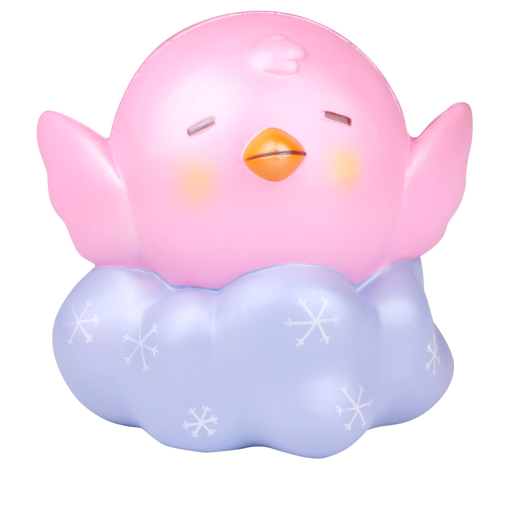2018 New Kawaii Squishy Jumbo Slow Rising Squishies Chicken Reduce Pressure Stress Relief Kids Squeeze Toy Gift For Children