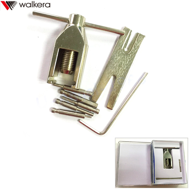 1 piezas de Metal Universal Walkera engranaje del piñón del Motor extractor Remover W010 para RC Drone Rc helicóptero