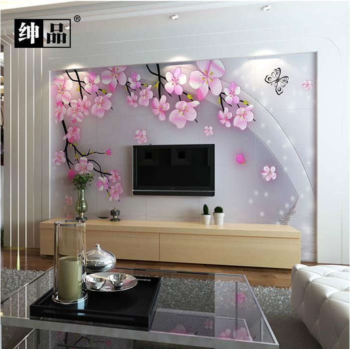 Living Room Wall Tile Designs: 3000*2400 3d Fine Carving Wall Background Entrance 3D