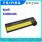 Replacement For Lenovo ThinkPad X240 Battery T440 T440S T450S X250 X260 K2450 T450 T460 L460 T550 W550S K20-80 45N1127 45N1137