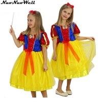 Halloween Cosplay Costume Children Snow White Fancy Dress Skirt Girl S Mermaid Stage Performance Princess Dress