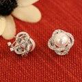 Alta qualidade de diamante coréia pérola brincos de noiva Retro bohemian mulheres jóias de luxo namorada