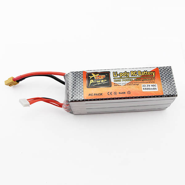 Durable Lipo Battery 22.2V 5500mAh 6s 40C TX60 For RC Helicopter Quadcopter Airplane Drone Boat  Car Truck Li-poly Bateria Lipo