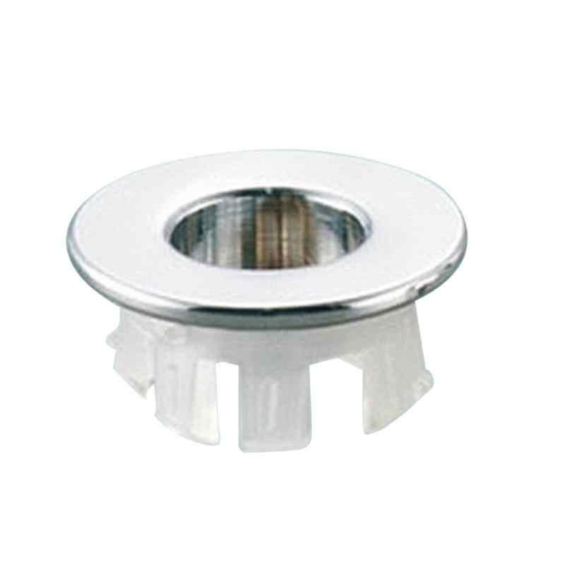 1PC Hoge Kwaliteit Sink Ronde Ring Overloop Spare Cover Tidy Chrome Trim Badkamer Keramische Wastafel Overloop Ring