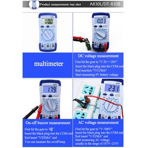Image 4 - Kit fer à souder électrique 110V/220V avec multimètre, outil de soudure, pompe à dessouder 60W, température