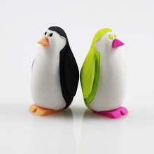 1pcs cute Cartoon lovely penguin eraser children Learning stationery gift prizes kawaii school Office supplies papelaria