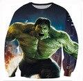 Fashion 3D Pirnt Marvel Hulk Comic Character Sweatshirt Hoody Crewneck Mens  Autumn Hoodies Plus Size 5XL