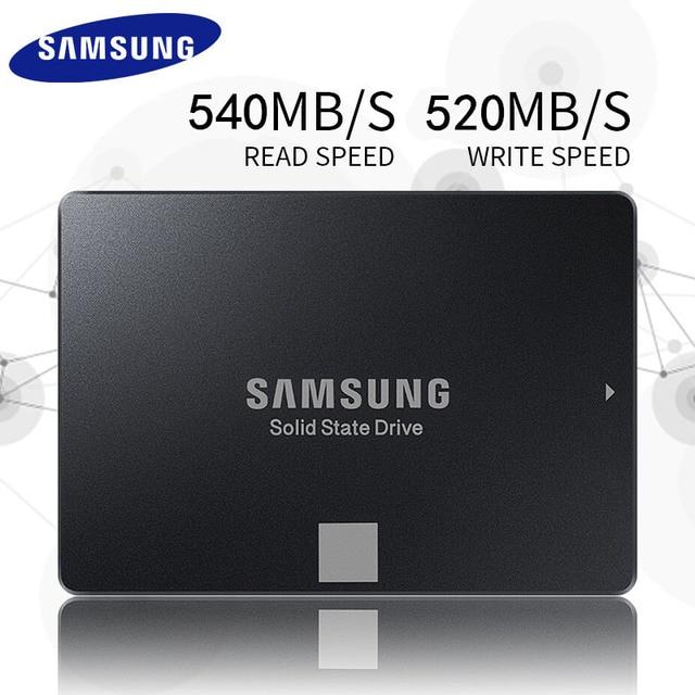 SAMSUNG SSD 850 EVO 500GB 250GB Internal Solid State Disk HD Hard Drive SATA 3 2.5 for Laptop Desktop PC 120 GB 250 GB 120G 250G-in Internal Solid ...