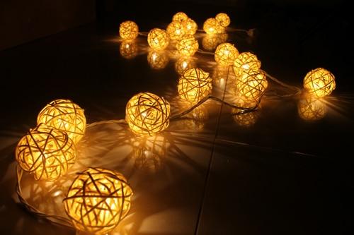 Sepak Takraw Thailand Lantern Festival Lights String Garden Wedding Two Bedroom Decor Free