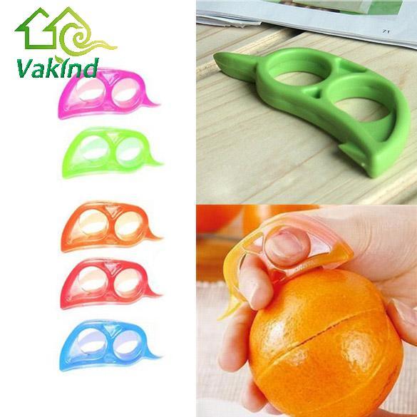 Útil abridor fruta orange peeler scaler removedor del cortador de cocina accesor