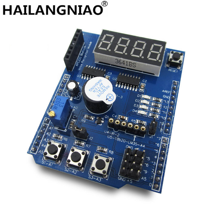 Multifunctional expansion board kit based learning for UNO r3 LENARDO mega 2560 Shield pso based evolutionary learning