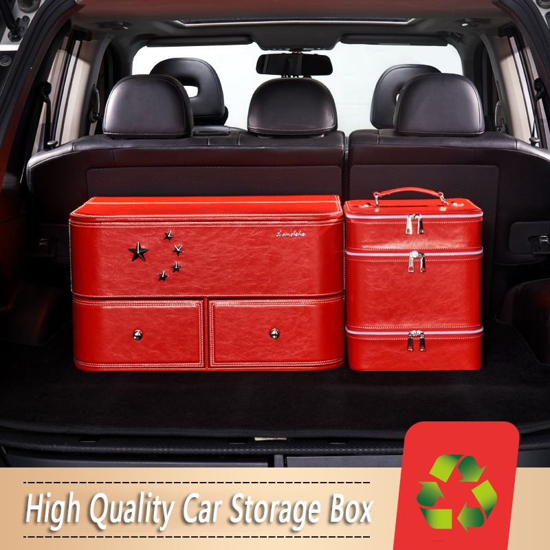 Car Trunk Storage Box Auto Accessories Car Organizer Trunk Collapsible Storage Cargo Container Bags Box Car Stowing Tidying