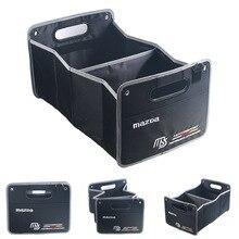 Folding bag folding box box car with a Mazda MS car with a trunk storage bag storage box