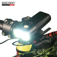 GACIRON Bicycle Light Usb Rechargeable Bike Front Headlight Cycling Flashlight IPX6 Waterproof 5000mAh 1600Lumen LED Lamp