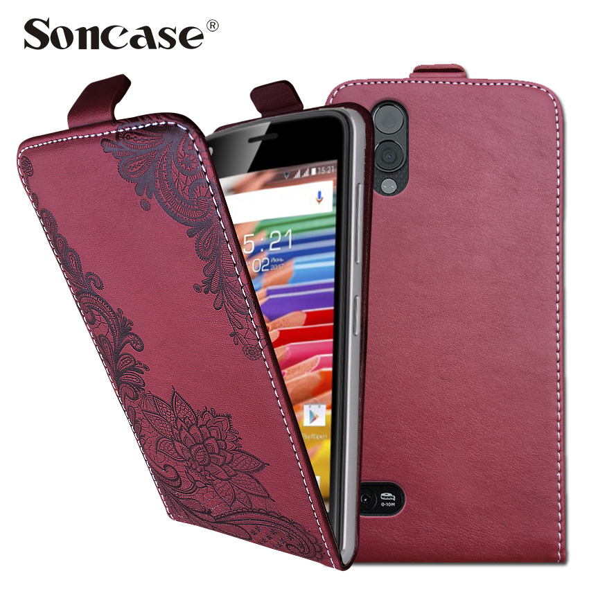 3D Stereo Embossing lace flower butterfly flip up and down leather phone bag cover case for Caterpillar <font><b>Cat</b></font> <font><b>S61</b></font> image