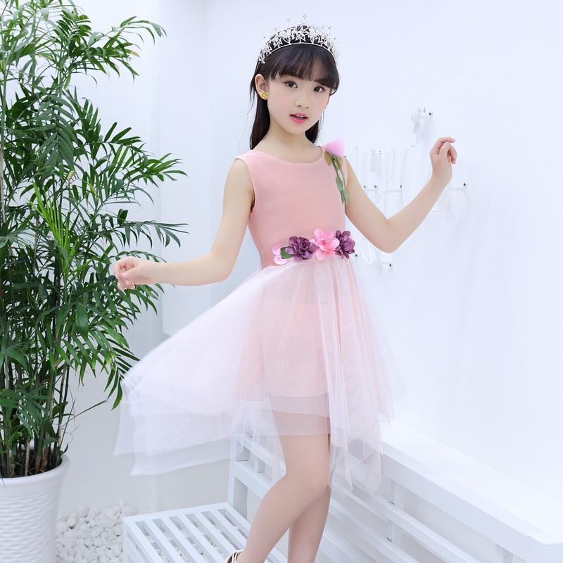 Children 39 s summer wear the new 2019 little girl dancing girls dress han edition veil children children 39 s wear vest in Dresses from Mother amp Kids