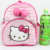 Nuevos niños de la llegada de la felpa bolsas de dibujos animados arco mochila niños bolsas escuela hello kitty pu bolsas para kindergarten muchacha del bebé