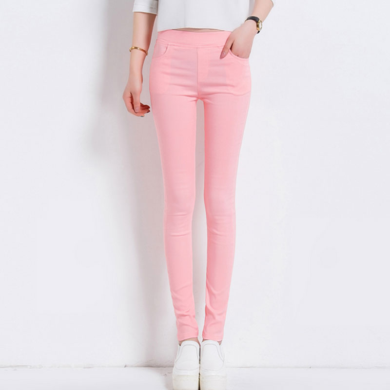 6 Colors Women Pants Plus size S-3XL Candy Colored Skinny Leggings Stretch Pencil Pants Famale Summer Trousers Pantalon Femme