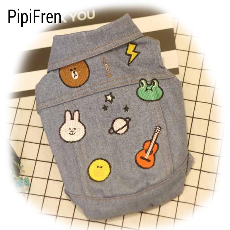 PipiFren kutyák Ruhák Stripe Hamburger kis háziállatok számára - Pet termékek